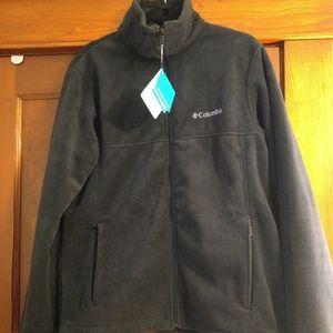 Men's medium Columbia fleece jacket